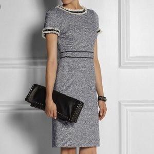 Tory Burch Rosemary tweed dress